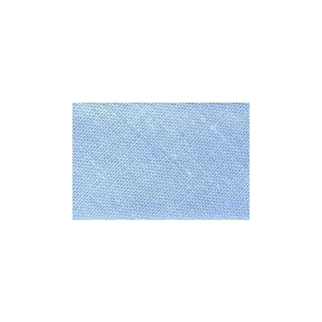 Biais replié tout textile 20 mm Bleu ciel x1m