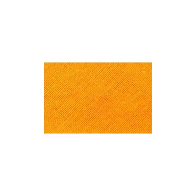 Biais replié tout textile 20 mm Orange x1m