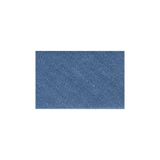 Biais replié tout textile 20 mm Bleu gris x1m