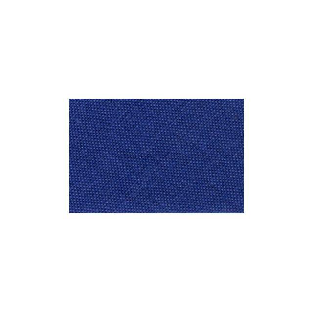 Biais replié tout textile 20 mm Bleu denim x1m