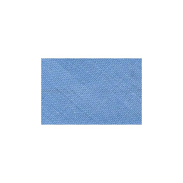 Biais replié tout textile 20 mm Bleu azur clair x1m