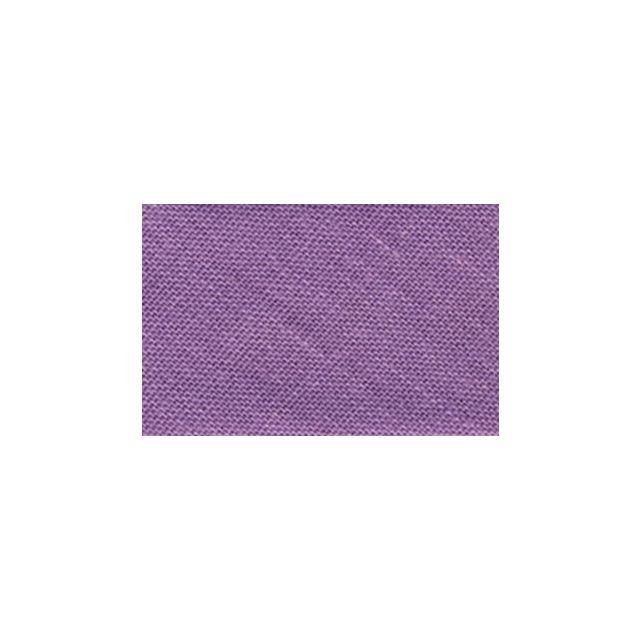 Biais replié tout textile 20 mm Violet nacré x1m