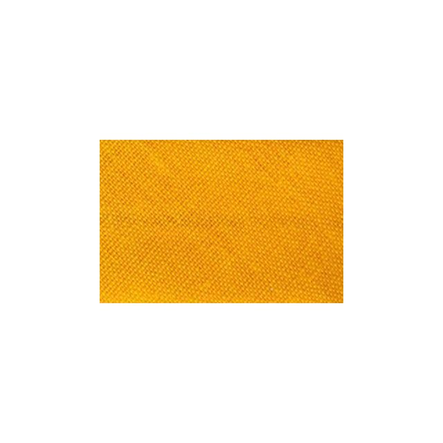 Biais replié tout textile 20 mm Mandarine x1m