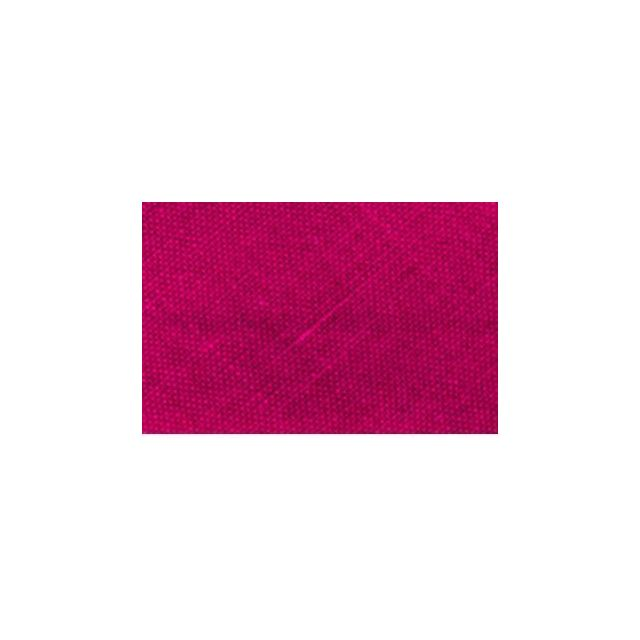 Biais replié tout textile 20 mm Framboise x1m