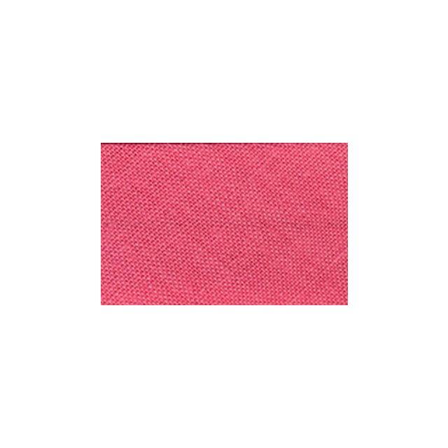 Biais replié tout textile 20 mm Rose thé x1m