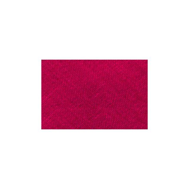 Biais replié tout textile 20 mm mangenta fushia x1m