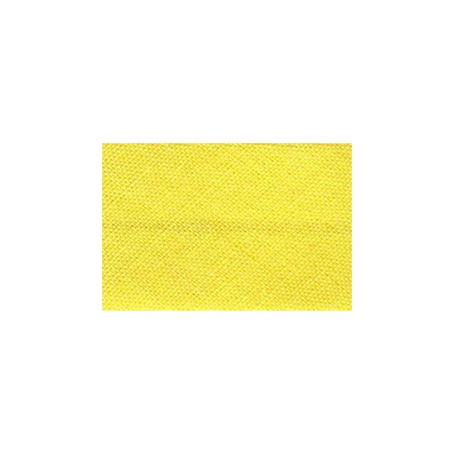 Biais replié tout textile 20 mm chrome x1m