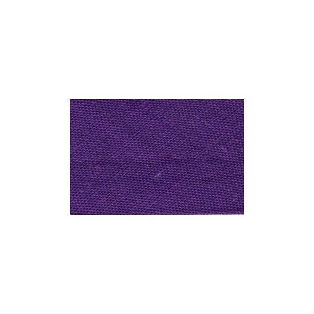 Biais replié tout textile 20 mm Violet x1m