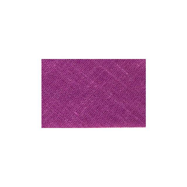Biais replié tout textile 20 mm Mauve x1m