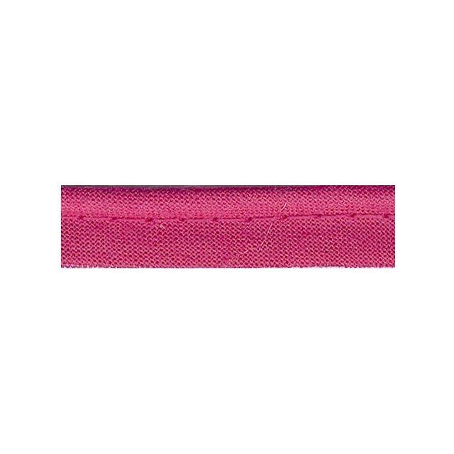 Passepoil tout textile 10 mm Rose x1m