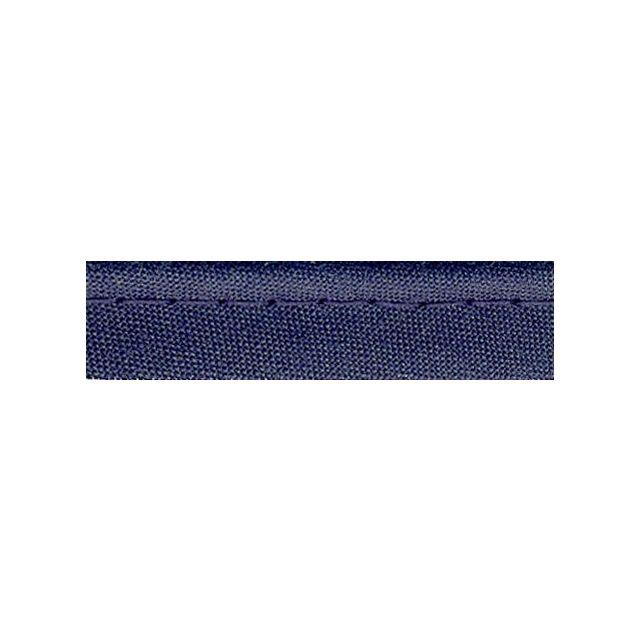 Passepoil tout textile 10 mm Bleu marine x1m