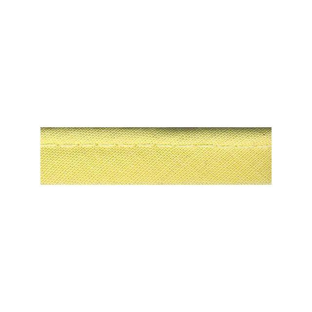Passepoil tout textile 10 mm Jaune poussin x1m