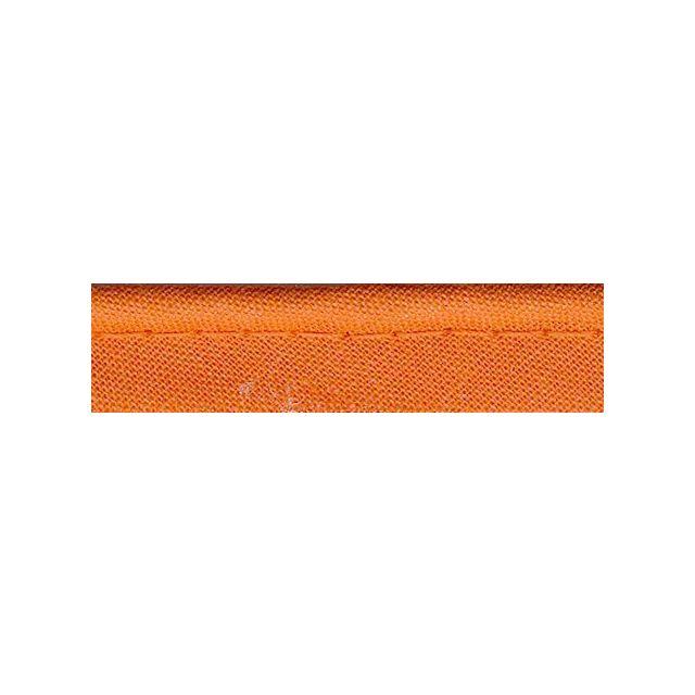 Passepoil tout textile 10 mm Orange x1m