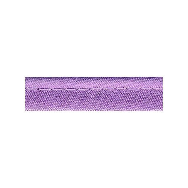 Passepoil tout textile 10 mm Violet pastel x1m