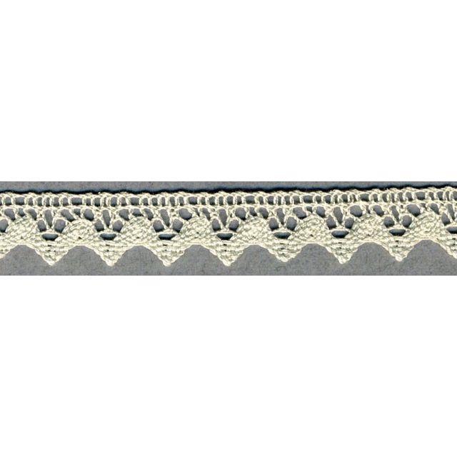 Dentelle Coton 15 mm Ecru x1m