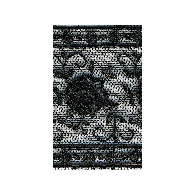 Ruban Entre-Deux 50 mm Noir x1m