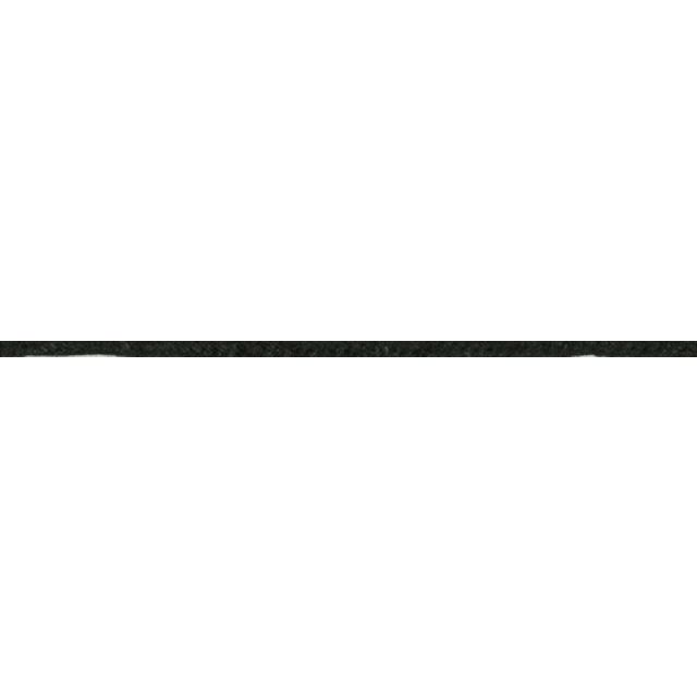 Cordon aspect cuir 2 mm Noir x1m