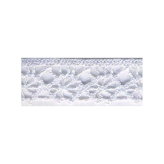 Dentelle Polyester 15 mm Blanc x1m