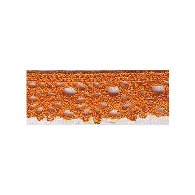 Dentelle Polyester 15 mm Orange x1m