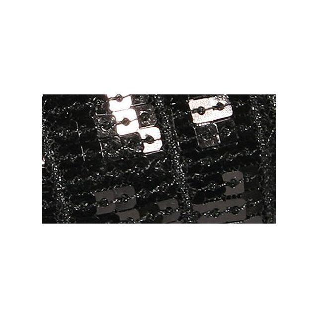 Galon Paillettes 22 mm Noir Paillettes x1m