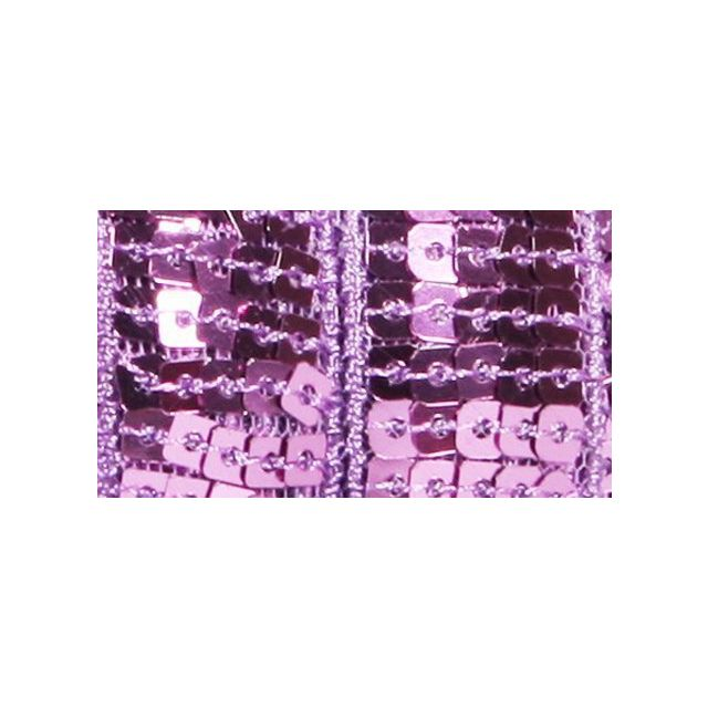 Galon Paillettes 22 mm Violet pastel Paillettes x1m
