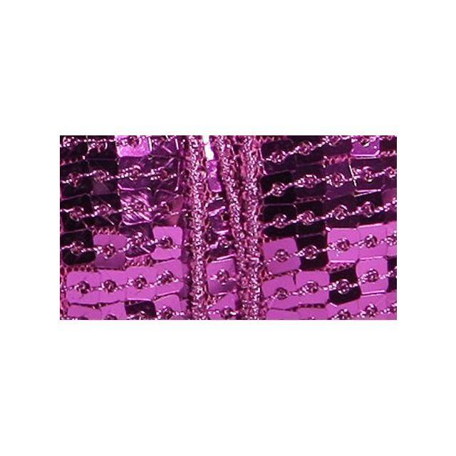 Galon Paillettes 22 mm Violet Paillettes x1m