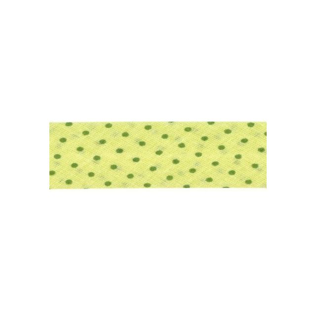 Biais pois Frou-Frou Vert pistache