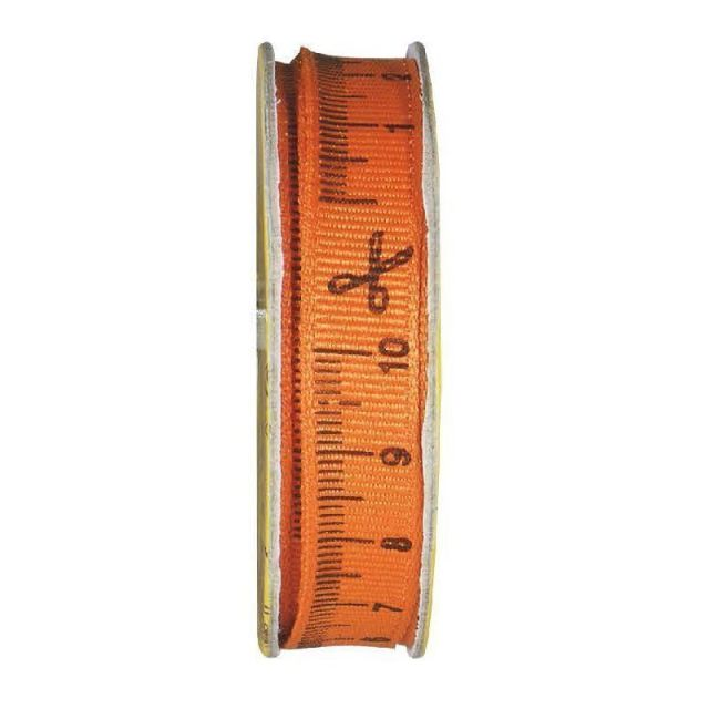 Ruban accessoire couture  Orange - bobinette 2m