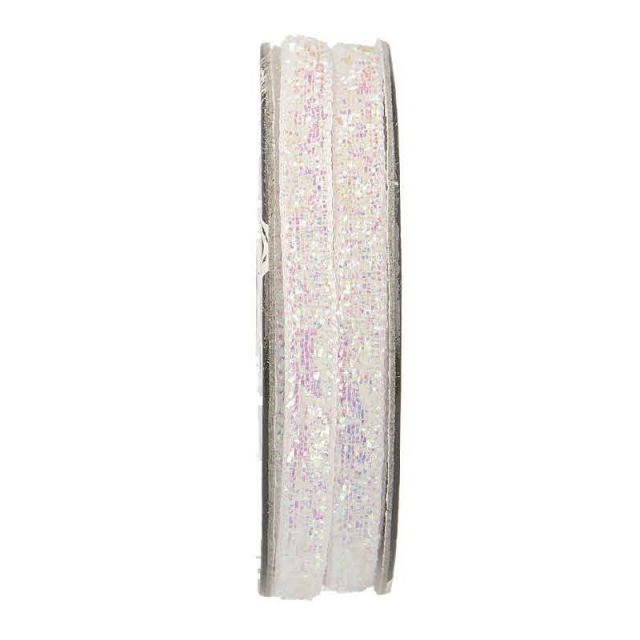 Velcro velours Blanc - bobinette 2m