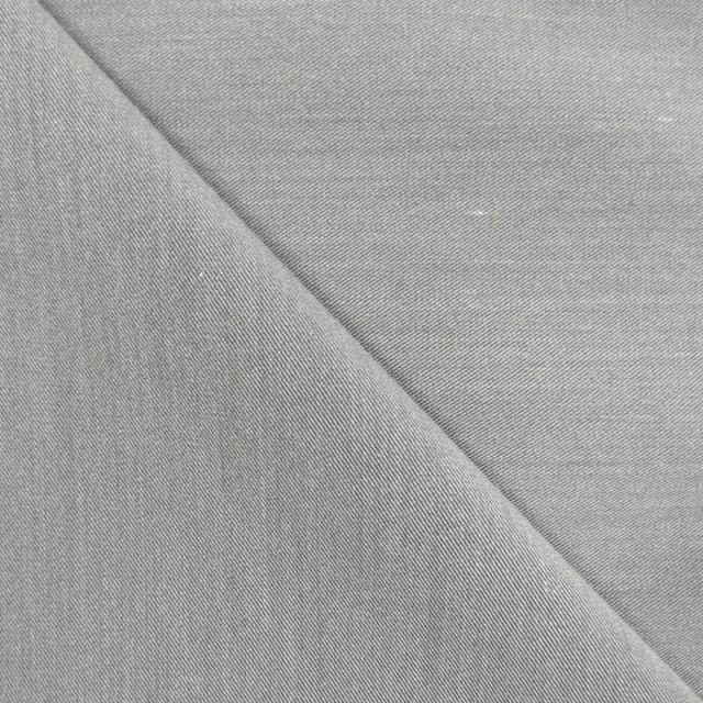 Tissu Gabardine Gris x10cm