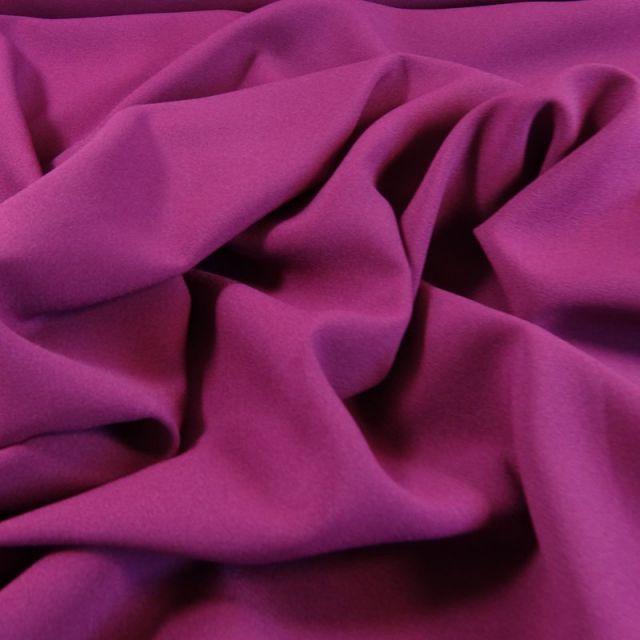 Tissu Crêpe Georgette Violet x10cm