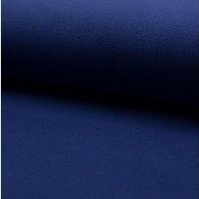 Tissu Drap de manteau Bleu Roi - Par 10 cm