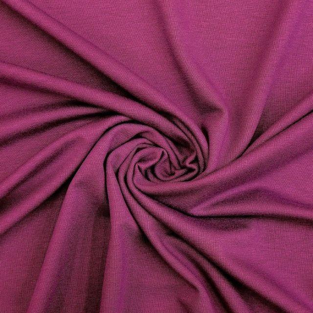 Tissu Jersey Viscose uni Lavande x10cm