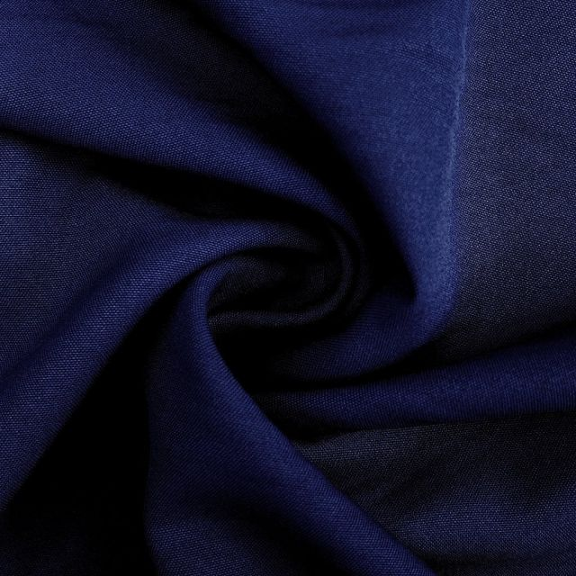 Tissu Burlington Bleu marine x10cm