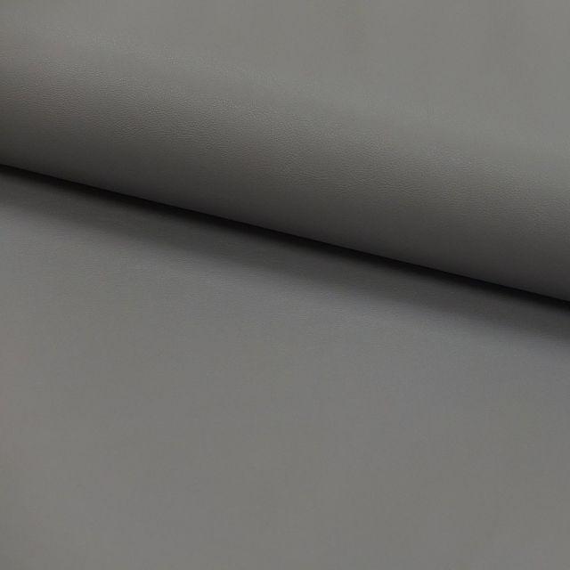 Tissu Simili cuir souple Gris x10cm
