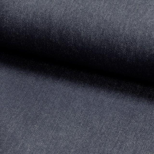 Tissu Denim Jeans Bleu jean foncé x10cm