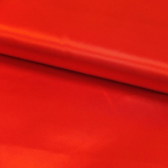 Tissu Satin uni Rouge x1m