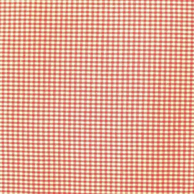 Tissu Vichy Mini carreaux 3 mm Fuchsia - Par 10 cm