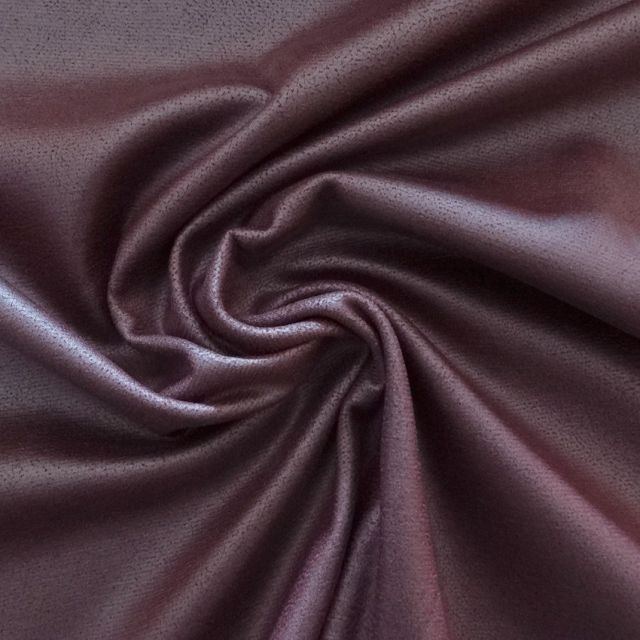 Tissu Viscose brillant Bordeaux x10cm