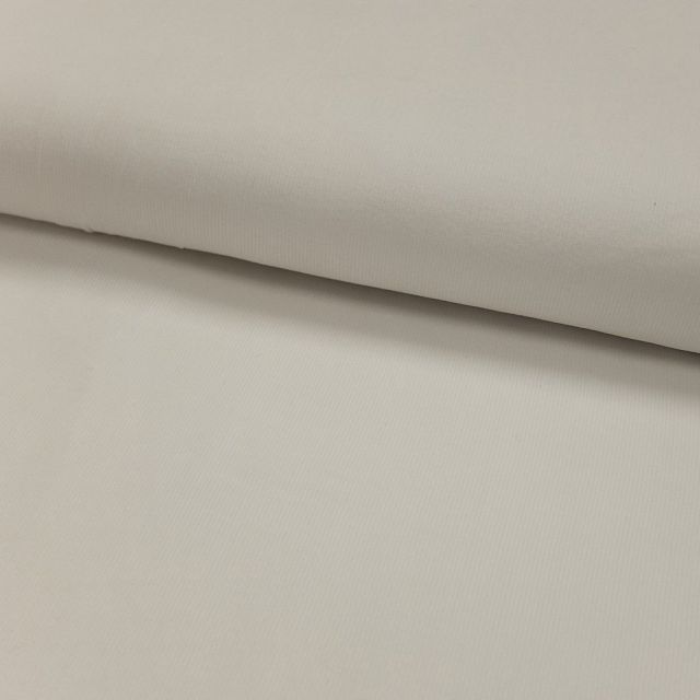 Tissu Velours milleraies Blanc - Par 10 cm