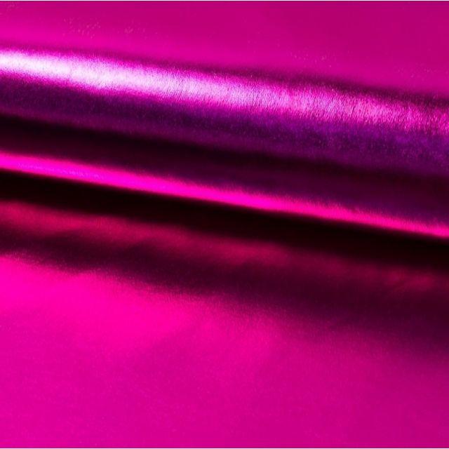 Tissu Lamé brillant Rose fuchsia - Par 10 cm