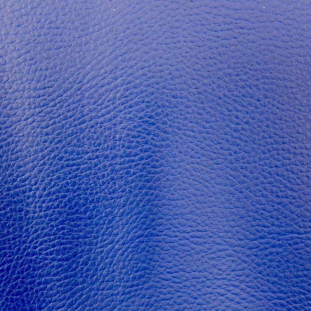 Simili cuir d'ameublement uni Bleu - Par 50 cm