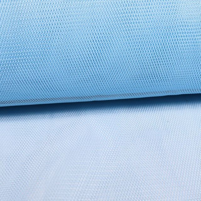 Tissu Tulle Rigide Bleu Ciel - Au mètre