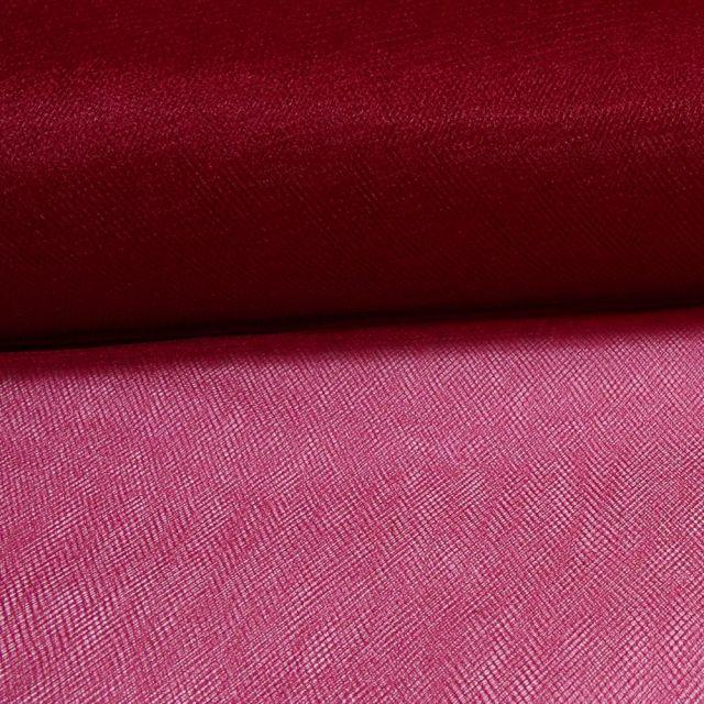 Tissu Tulle Souple Grande Largeur Pourpre - Au mètre