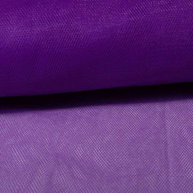 Tissu Tulle Souple Violet - Au mètre