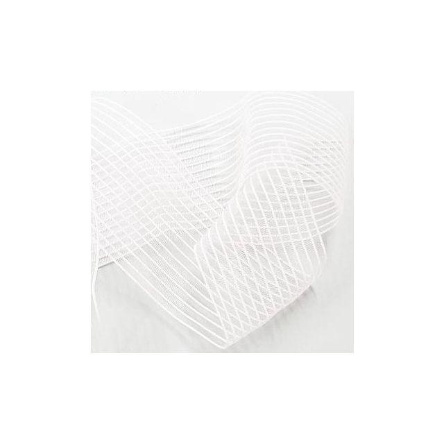 Elastique fronceur smock 40 mm Blanc - Au mètre