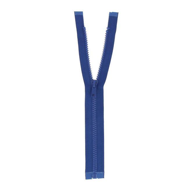 Fermeture injectée n°5 séparable Bleu foncé - 12 tailles