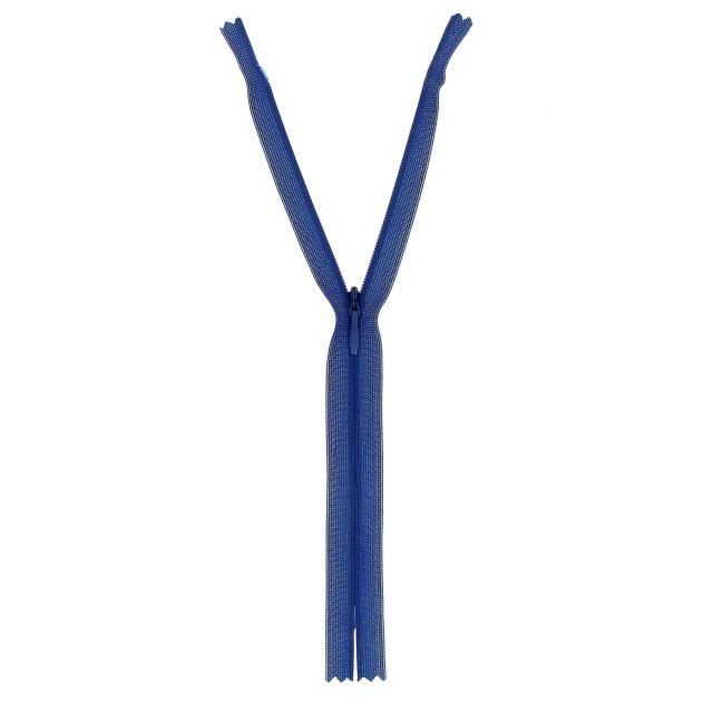 Fermeture invisible Bleu - 3 tailles