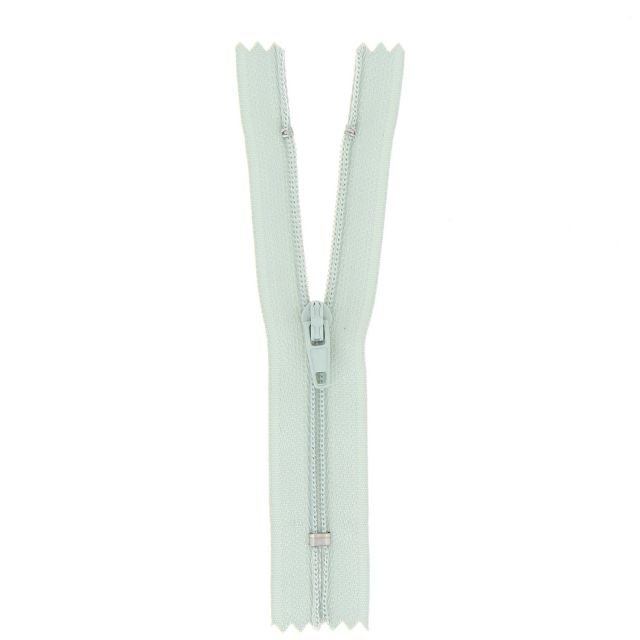 Fermeture nylon non séparable Vert bleu - 12 tailles