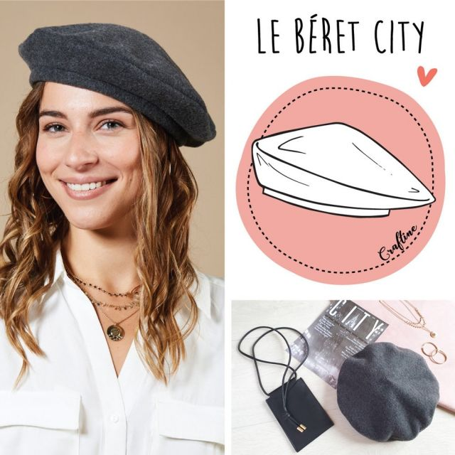 Kit Couture Craftine Béret City